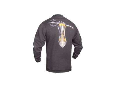 Свитшот зимний WS- Armored Force (Winter Sweatshirt Ukrainian Armored Forces) МВ ВСУ, [1223] Graphite, P1G