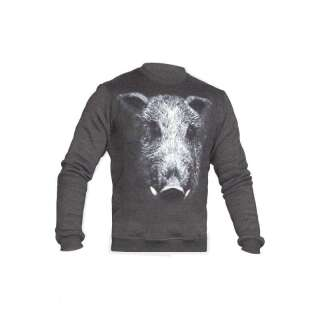 Свитшот зимний WS- Born to Hunt (Winter Sweatshirt Born To Hunt), [1223] Graphite, P1G