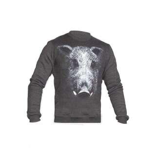 Світшоти зимовий WS- Born to Hunt (Winter Sweatshirt Born To Hunt), [1223] Graphite, P1G-Tac