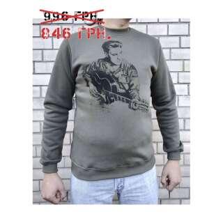 Світшоти зимовий WS- Elvis (Winter Sweatshirt Elvis Spirit), [1270] Olive Drab, P1G-Tac