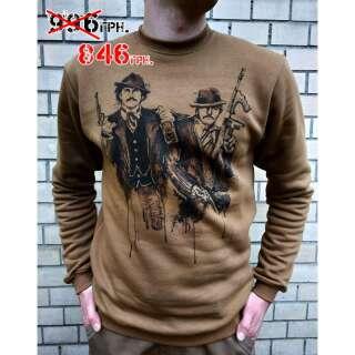 Світшоти зимовий WS- Pablo (Winter Sweatshirt Pablo Just Say No), [1 174] Coyote Brown, P1G-Tac