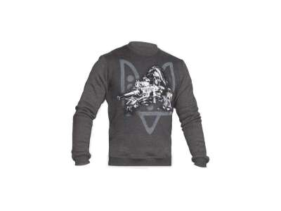 Світшоти зимовий WS- Special Force Sniper (Winter Sweatshirt Ukrainian Special Forces Sniper), [тисяча двісті двадцять три] Graphite, P1G-Tac