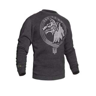 Свитшот зимний WS- Special Force (Winter Sweatshirt Ukrainian Special Forces) ССО, [1223] Graphite, P1G
