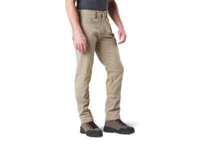 Тактичні штани 5.11 Defender-Flex Slim (джинсовий крій), [070] Stone, 44140