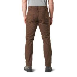 Тактичні штани 5.11 Defender-Flex Slim (джинсовий крій), [117] Burnt, 5.11 ®