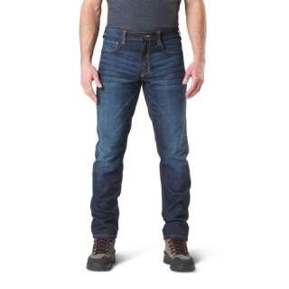 Тактичні джинсові штани 5.11 Defender-Flex Slim Jean, [649] Dark Wash Indigo, 5.11 ®