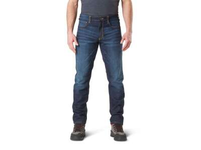 Тактические джинсовые брюки 5.11 Defender-Flex Slim Jean, [649] Dark Wash Indigo, 5.11