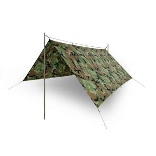 Тент SUPERTARP - Polyester Ripstop, Olive Green, Helikon-Tex