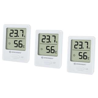 Термометр-гигрометр Bresser Temeo Hygro indicator (3шт) white, Bresser (Germany)