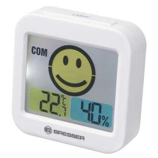 Термометр-гигрометр Bresser Temeo Smile White (7007450GYE000), Bresser (Germany)