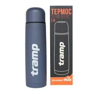 Термос Tramp Basic сірий 1 л
