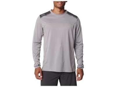 Тренувальна футболка з довгим рукавом 5.11 Max Effort Long Sleeve Shirt, Lunar, 44140