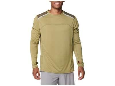 Тренировочная футболка с длинным рукавом 5.11 Tactical Max Effort Long Sleeve Shirt [836] Underbrush, 5.11 Tactical®