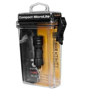 True Utility брелок-фонарик Compact MicroLite 3 LED Black