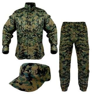 Уніформа ACU - PolyCotton Ripstop, USMC Digital Woodland, Helikon-Tex