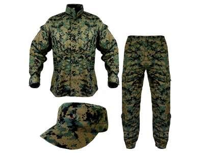 Униформа ACU - PolyCotton Ripstop, USMC Digital Woodland, Helikon-Tex