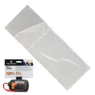 Вкладиш для спального мішка Ferrino Liner Silk SQ White
