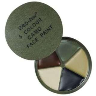 Web-tex Face Paint Kit (5 colour)