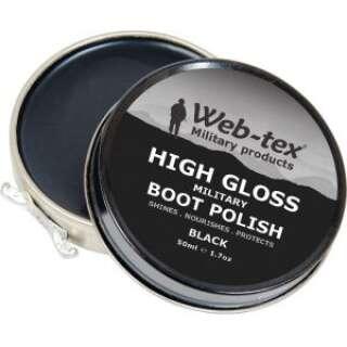 Web-tex крем для обуви черный