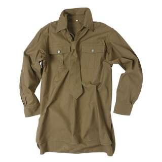 WH тропическая рубашка M40 (REPRO), Brown, Mil-tec