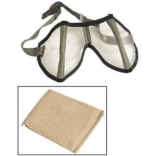 WWII противопыльные очки Африканского корпуса (DAK), Transparent, noname