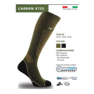 X Tech носки Carbon XT25 олива