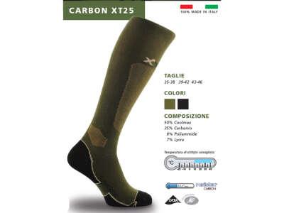 X Tech шкарпетки Carbon XT25 олива