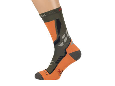 X Tech носки XT90 олива