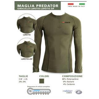 X Tech рубашка Predator 2 олива