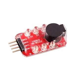 Звуковой LED индикатор заряда Li-Po батареи 2S-3S [8FIELDS]