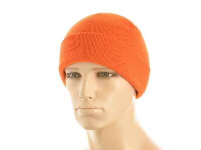Шапка M-Tac тонка в'язка 100% акрил (Orange)