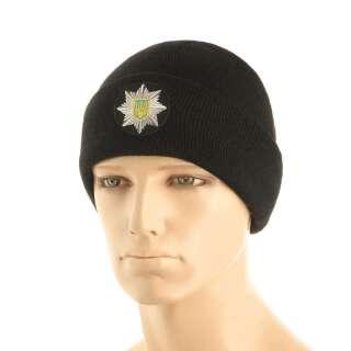 M-Tac шапка Поліція тонка в'язка 100% акрил Black