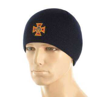 M-Tac шапка ДСНС тонка в'язка 100% акрил Dark Navy Blue