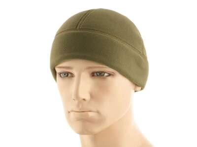 M-Tac шапка Watch Cap Premium (плоский шов) фліс (343г/м2) Army Olive