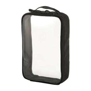 M-Tac органайзер утилітарний прозорий Elite Large (30х19 см) Black