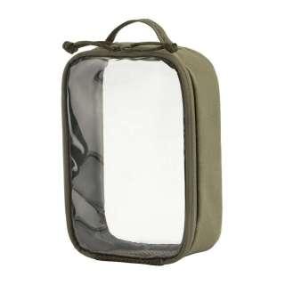 M-Tac органайзер утилітарний прозорий Elite Small (22х14 см) Ranger Green