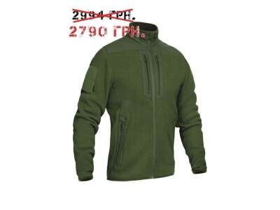 Куртка утепляющая зимова PCWJ-Thermal Pro (Punisher Combat Warmer Jacket Polartec Thermal Pro), [1270] Olive Drab, P1G-Tac