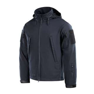 M-Tac куртка Soft Shell Typhoon Dark Navy Blue