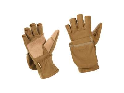 M-Tac перчатки беспалые с клапаном Windblock 295 Coyote Brown