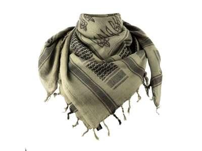 M-Tac шарф шемаг с Тризубом Foliage Green/Black