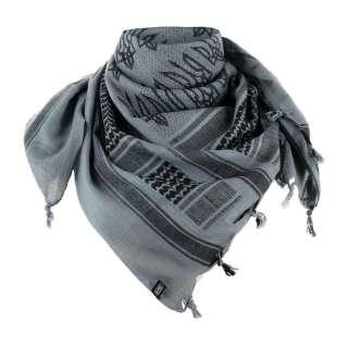 M-Tac шарф шемаг с Тризубом Grey/Black