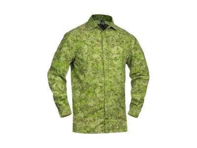 Рубашка полевая Huntman-Camo, [1234] Камуфляж Жаба Полевая, P1G