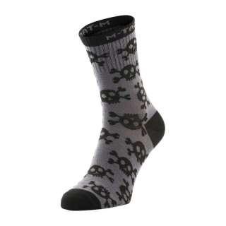 M-Tac шкарпетки легкі Mk.3 Pirate Skull Dark Grey