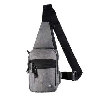 M-Tac сумка-кобура наплічна Melange Grey