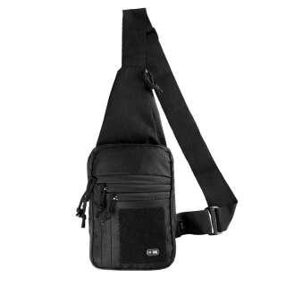 M-Tac сумка-кобура наплечная с липучкой Black
