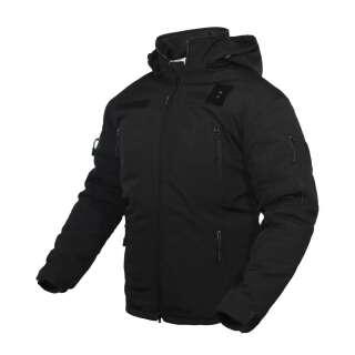Куртка зимова Поліція Tailor SoftShell Black, Україна