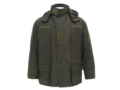 Куртка тактична з врізними кишенями Ріп-Стоп Olive, Україна