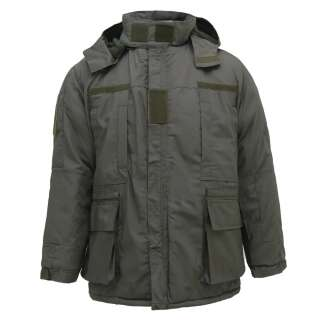 Куртка тактична з врізними кишенями Ріп-Стоп Grey (полин), Україна