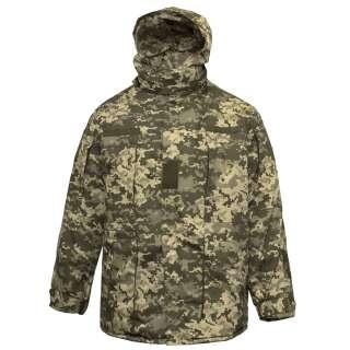 Куртка тактична зимова (Бушлат) Ріп-Стоп ММ-14, Україна