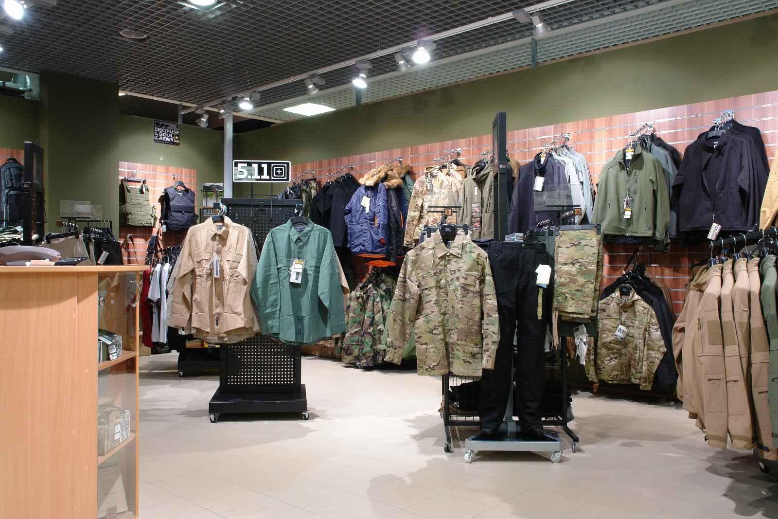 военная одежда купить